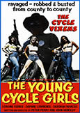 (779) YOUNG CYCLE GIRLS (1971) Biker Vixens on a Road Trip