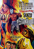 (375) SANTO vs THE STRANGLER (1963) Classic Santo Rarity!